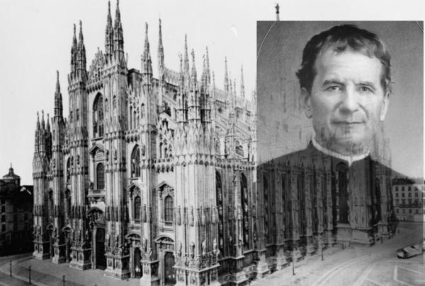 San Juan Bosco y Catedral de Milán