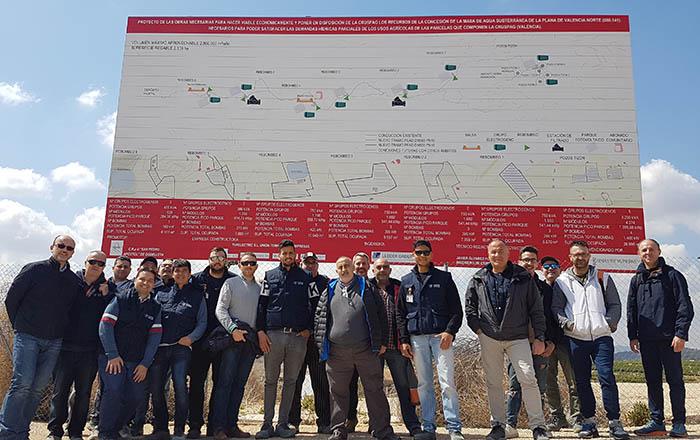 1_Alumnos INTER visitan instalaciones de bombeo por paneles folovoltaicos