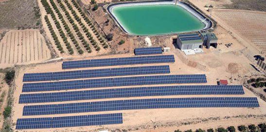 Visita a instalaciones de bombeo solar