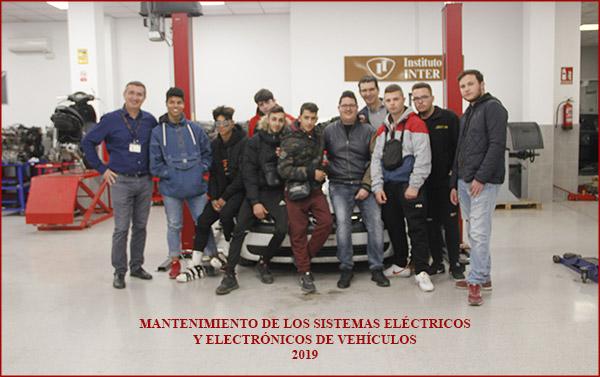 Certificado de Profesionalidad Mantenimiento de los sistemas eléctricos y electrónicos de vehículos