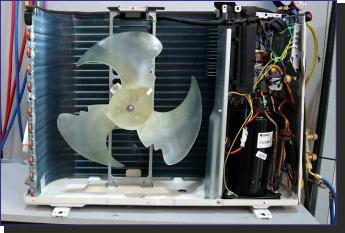 Fotografía Unidad externa del split Climatización