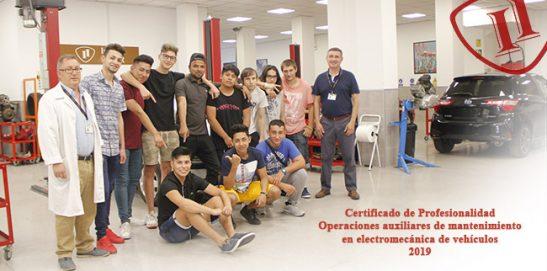 Graduación Certif. Prof. Mecánica del Automóvil