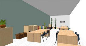 Nuevas aulas Ed. Infantil INTER basadas en la neuroeducación