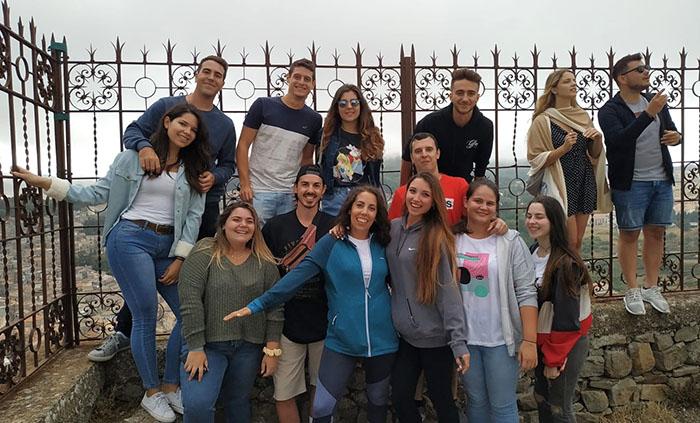 Alumnos INTER en movilidad Erasmus+ a Siciclia