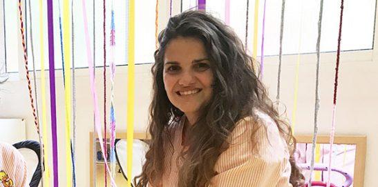 Entrevista alumna de Infantil en su puesto de trabajo