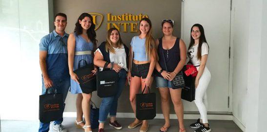 Nuestros alumnos en Sicilia
