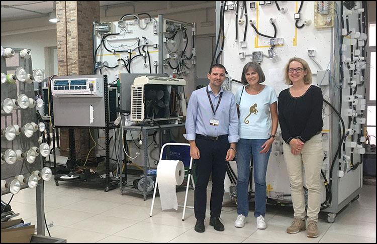 Erasmus+INTER Vicente Soler junto docentes holandesas