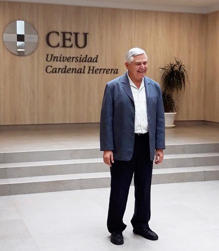 Rafael Bisquera en el CEU