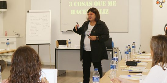 Taller sobre Psicología Positiva en INTER