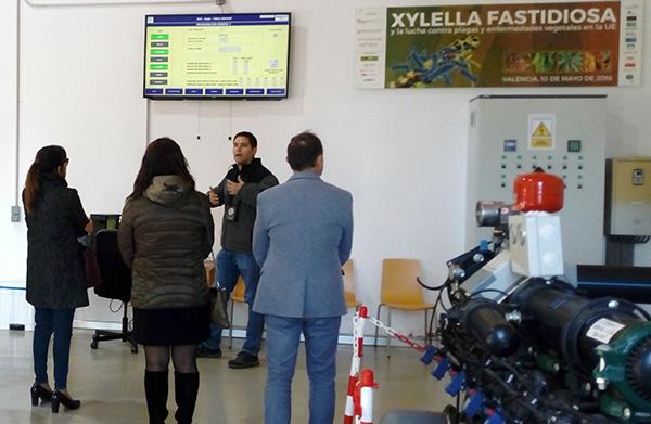 Inst. INTER visita en centro de la Asociación Valenciana de Agricultores