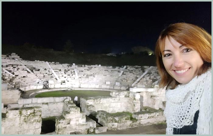 Laura Domènech en Grecia