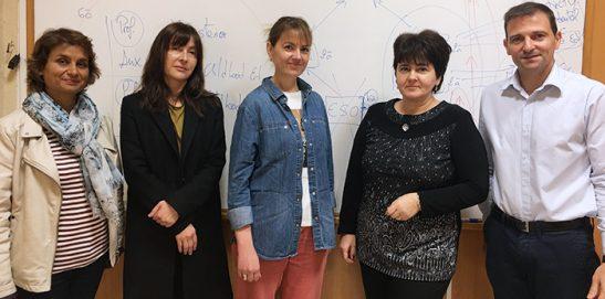 Profesorado búlgaro visita Instituto INTER