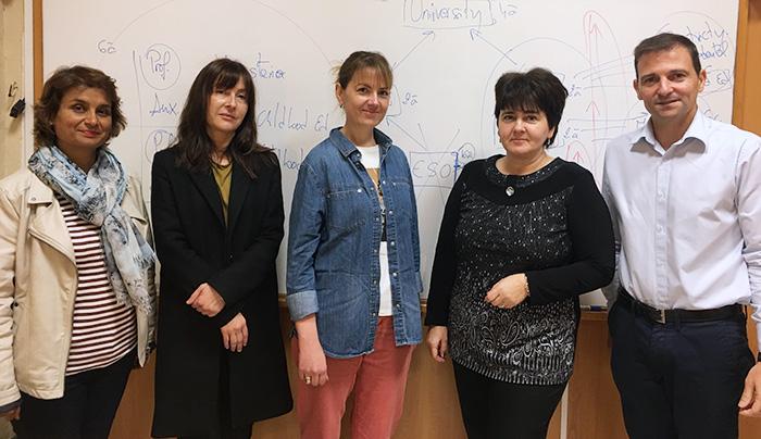 Docentes búlgaras visitan Instituto INTER