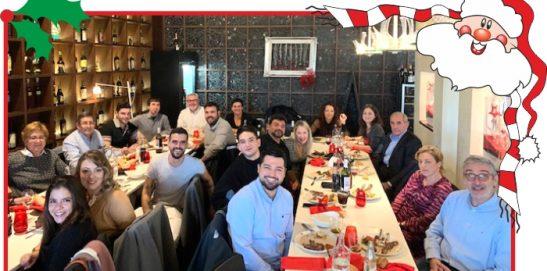 Cena de Navidad en Barcelona