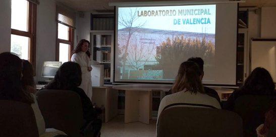 Dietética visita el Laboratorio Municipal de Valencia