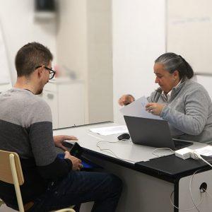 Stadler selecciona candidatos en Instituto INTER