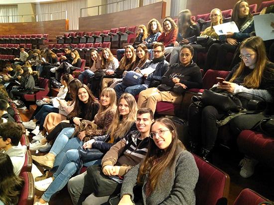 Alumnos del CFGS Higiene bucodental visitan la facultad