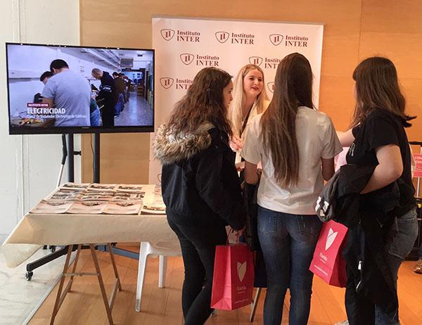 Instituto INTER en la Feria del Estudiante de Catarroja
