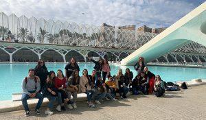 Alumnos INTER TCAE en CCAA Valencia