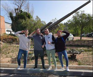 Alumnos Instituto INTER de Automoción visita base militar_3