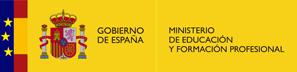 Logo Ministerio de Educación y FP