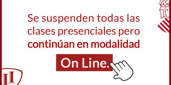 Reanudación de clases en modalidad On Line