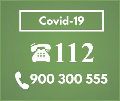 teléfonos de emergencia sanitaria para Comunidad Valenciana