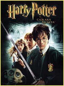 Portada película de Harry Potter y la Cámara Secreta