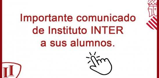 Comunicado de Instituto INTER