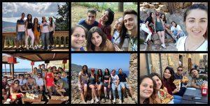 Alumnos Instituto INTER durante movilidad europea a Sicilia.