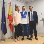 Graduación de CFGM Auxiliar Enfermería Semiescolarizado tardes de Instituto INTER en 2018