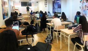 clase Dietética de Diego Polo en Instituto INTER