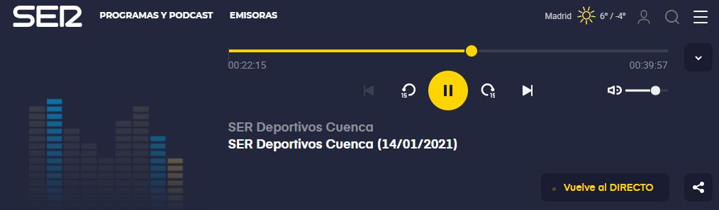 Podcast SER Cuenca
