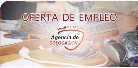 Oferta de Empleo: Electricistas-mantenimiento