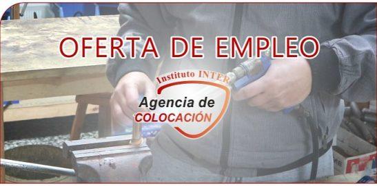 Oferta de Empleo: Fontanero