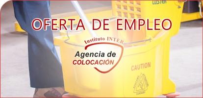 Oferta de Empleo: Limpadores