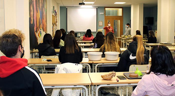 Clase del ciclo de Educación Infantil en Instituto INTER