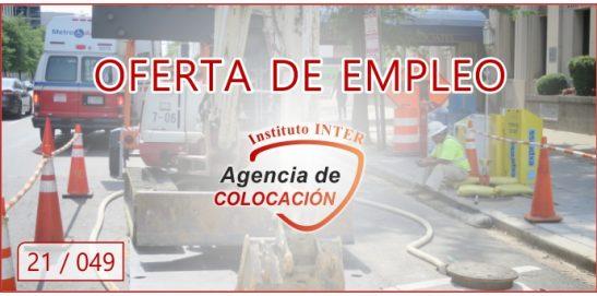 Oferta de Empleo: ALBAÑIL OFICIAL DE 1ª