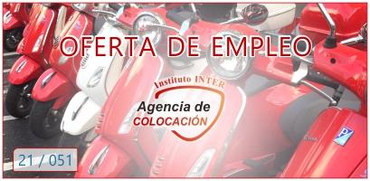 Oferta de Empleo: MECÁNICO DE MOTOS