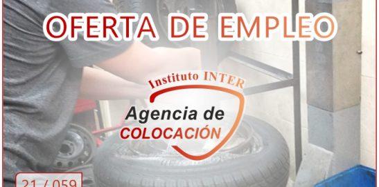 Oferta de Empleo: ELECTROMECÁNICO DE VEHÍCULOS