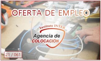 Oferta de Empleo: 2 ELECTRICISTAS