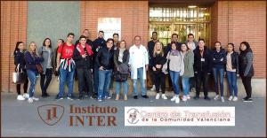 Alumnos INTER entrada Centro bc